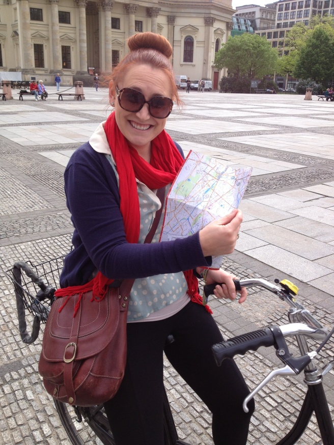 Bike riding in Berlin