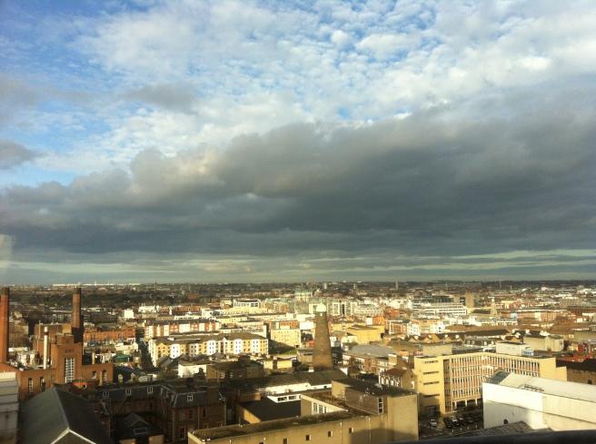 Dublin from the Skybar