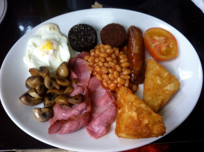 Authentic and delicious Irish breakfast...minus the blood pudding