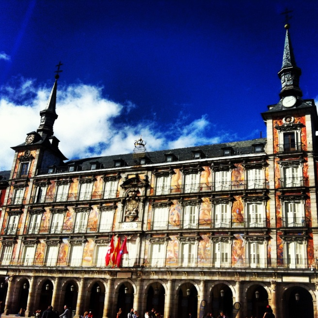 Plaza Mayor... beautiful