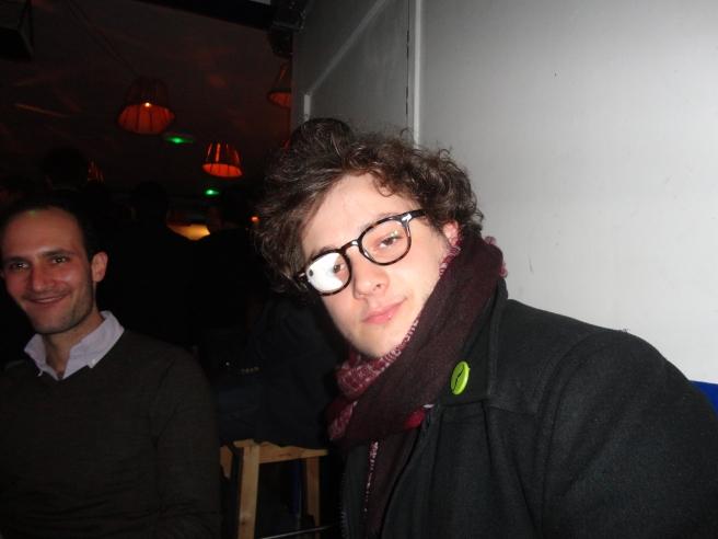PE in Boris' glasses
