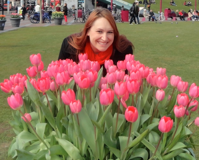 This is as close as I got to dancing in a feild of tulips... how sad.
