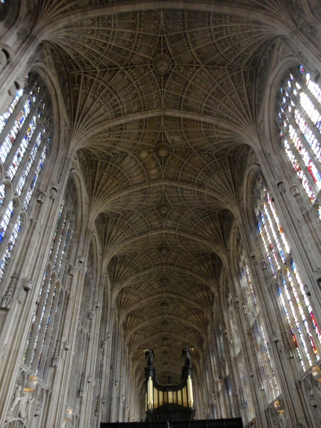Inside King's College Chapel