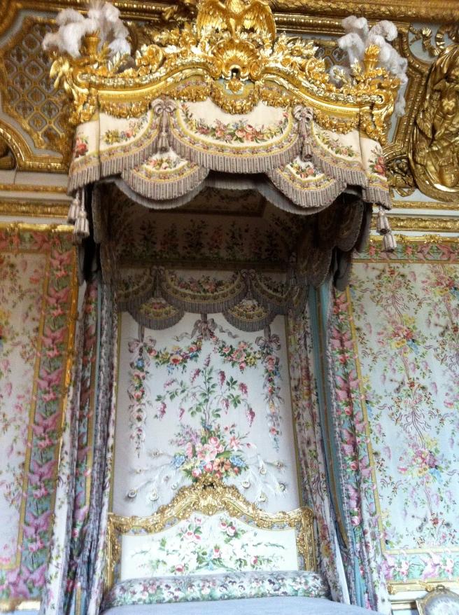 Where Marie Antoinette slept... 'Let them eat cake'