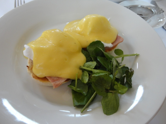 These were good, but none are as good as Nana's eggs benedict.