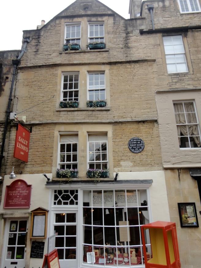 Sally Lunn's house- the oldest house in Bath