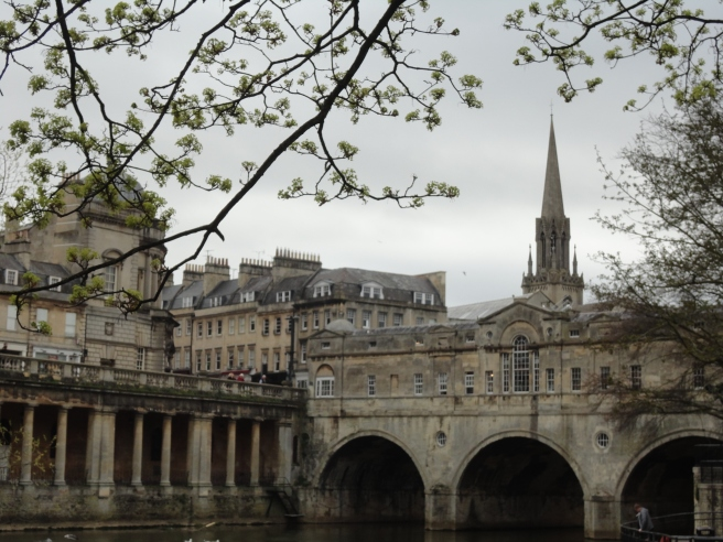 Bath's version of the Ponte Vecchio in Florence :)