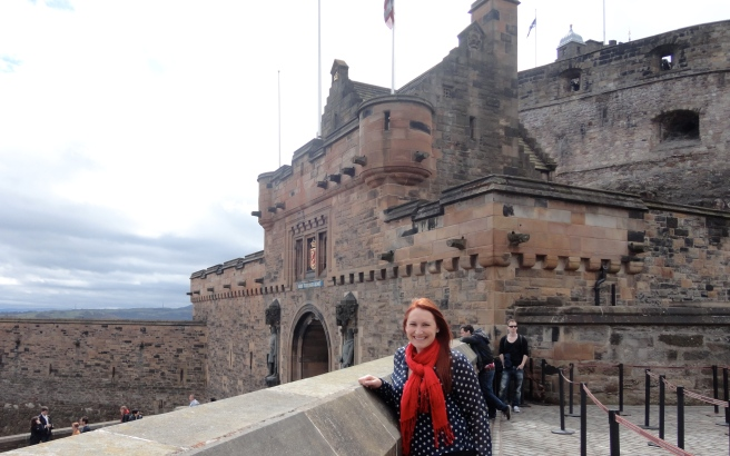 Me with the castle