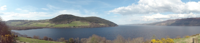 Panorama of Loch Ness