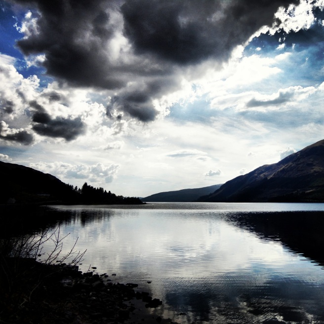 Loch Lochy. So beautiful.
