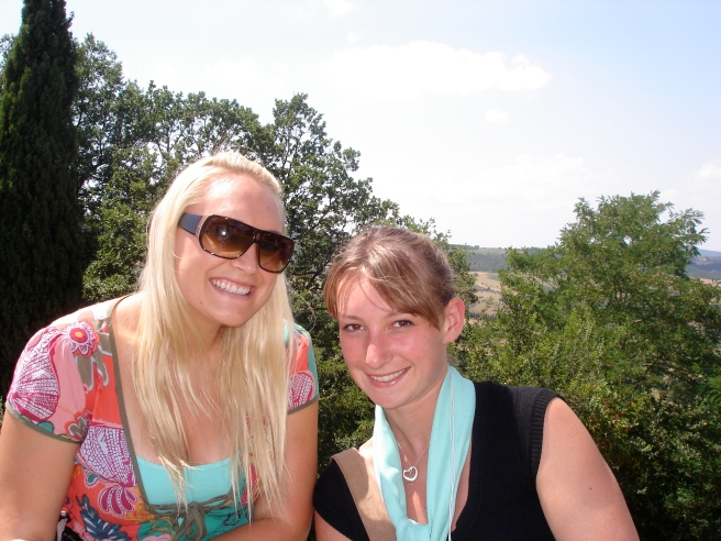 Katie and I in Assisi
