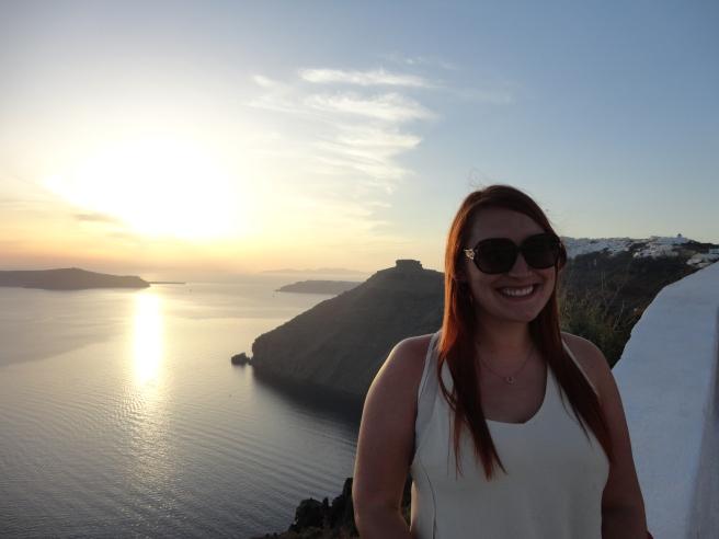 Last Santorini sunset