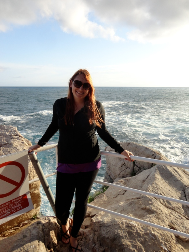 "The sign says, ""Access Denied, Danger to Life."" Oh, you mean jumping off cliffs is dangerous? I had no idea!"